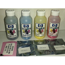 Kit De Recarga Toner Color Hp Cp1025+chip 100% Garantizado