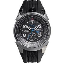Relógio Orient Masculino Flytech Titânio Mbtpc003 Borracha
