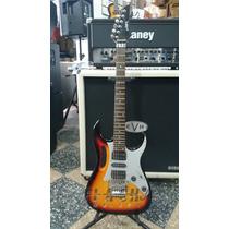 Guitarra Electrica Lazer Jem Cable Funda Correa Puas