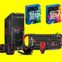 Pc Gamer Quad Core A8, 8gb Hyper, 500gb Cpu Computadora I 3