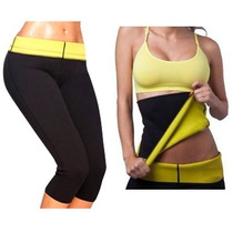 Faja + Calza Hot Pants Neotex Thermo Shaper / Fernapet