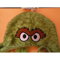Gorro Plaza Sesamo Oscar Muppet By Sesame Street Green Verde