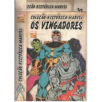 Coleção Histórica Marvel Os Vingadores- Box Completo - Novo