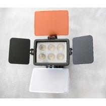 Iluminador Video Light Led-5010a Canon Nikon Olympus Sony