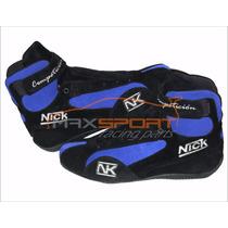 Botas Nick Competición Antiflama 12 Ctas. Sin Interes...!!!
