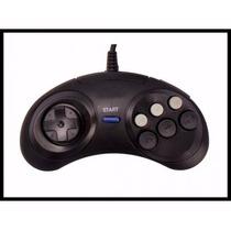 Joystick Controle Mega Drive Master System Deluxe Drive Novo