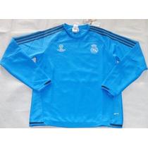 Remate! Sudadera Real Madrid Champions Azul Envío Gratis