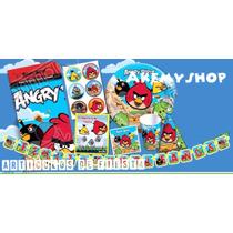 Angry Birds Artículos De Fiesta Paquete Para 20 Niños