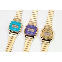Relojes Casio La 670wg-9 Vintage Retro Mujer Originales
