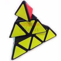 Cubo Mágico Profissional Pyraminx Shengshou Black Imperdível