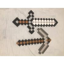 Minecraft Espada E Picareta (2x1)