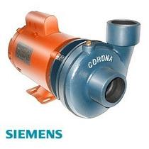 Bomba P/agua De 2hp 2 X2 Marca Siemens 165l/m Hasta 42 Metro