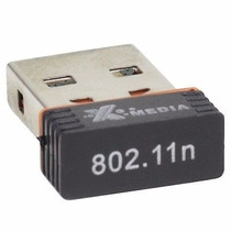 Tarjeta Red Inalambrica Wifi Usb Con Antena 300 Mts 150 Mbps