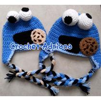 Gorro Cookies Monster, Harry Potter, Búhos, Zorro, Pug Bebés