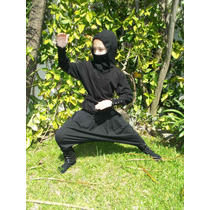 Traje/disfraz De Ninja Para Niños Talle 10, 12, 14