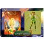 Dvd + Camiseta Tinker Bell E O Tesouro Perdido Disney Novo!
