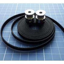 Kit 2 Polias + 2 Mts De Correia Gt2 - Impressora 3d - Reprap