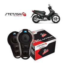 Alarme Moto Presença Partida Stetsom Honda Biz 125 Ex 2014