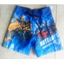 Transformers Batman Toy Story Cars Short Traje De Baño Impor