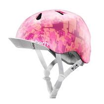 Rm Casco Bern Bicicleta Niña Rosa