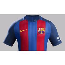 Nuevo Jersey Barcelona 2016 - 2017 Playera Rayas Nike Origi