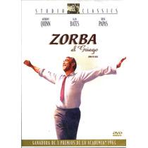 Dvd Zorba El Griego ( Zorba The Greek ) 1964 - Mihalis Kakog