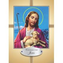 Cento Santinho Oração Conversa Com Jesus 100 Unidades