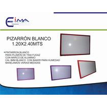 Pizarron 1.20x2.40mts