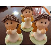 Souvenir Angelitos En Porcelana Fria
