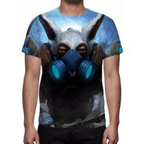 Camisa, Camiseta Dota 2 Meepo - Estampa Total
