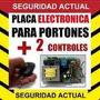 Motor Porton Levadizo,placa Para Control De Portones