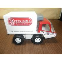 Camion De La Serenisima De Chapa Y Plastico