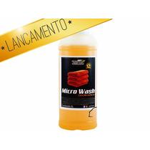 Shampoo Sabão Lava Micro Fibra Boina Aplicador Espuma 2 L
