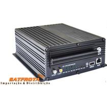 Dvr Veicular Profisional 4 Canais Com Gps, 3g ,wifi,sensores