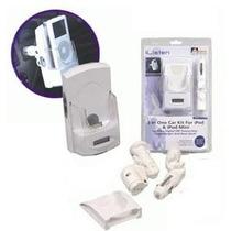 Transmisor Fm Y Cargador 12v Para Ipods