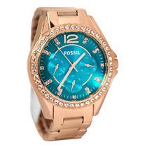 Relógio Feminino Fossil Es3385 Rose Novo Original