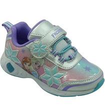 Nuevo Modelo Zapatos Gomas Niña Frozen Disney Luces