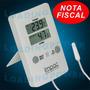 Termo-higrômetro Digital C/ Sensor, Chocadeira, Estufa Impac