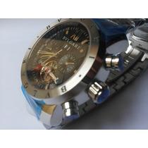 Relógio Masculino Bulgari Automatico Sedex 12x Sem Juros