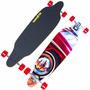 Longboard Skate Hang Ten Madeira Truck Abec 7 Profissional