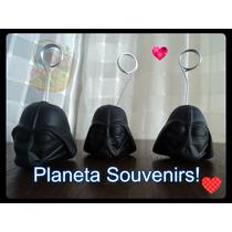 Portafoto Darth Vader! Souvenir Infantil! Porcelana Fría