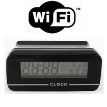 Reloj Espia Despertador Con Wifi Hasta 64gb Lente Sony