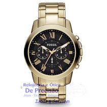 Relógio Cronógrafo Fossil Grant Ffs4815/z