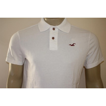 Camiseta Gola Polo Hollister Masculina - Original