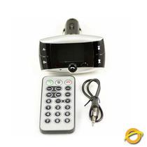 Transmisor Fm Con Bluetooth Para Auto Usb Sd Control Remoto