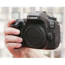 Câmera Canon Nova 80d Corpo Wi-fi Completa Mercadoplatinum