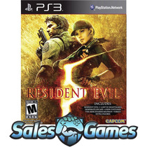 Ps3 - Resident Evil 5 Gold Edition - Psn Legendas Português