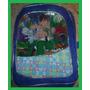 Mochila Escolar Infantil Ben 10 Azul Sem Rodinhas 31x23cm