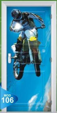 20ba76557 Adesivo 123 Porta Quarto Sala Moto Motocross Xgames 106 - R  69