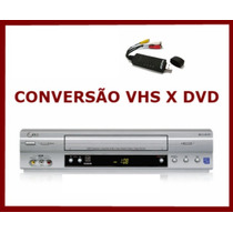 Conversor Vhs Para Dvd Conversor Digital, Pronta Entrega!